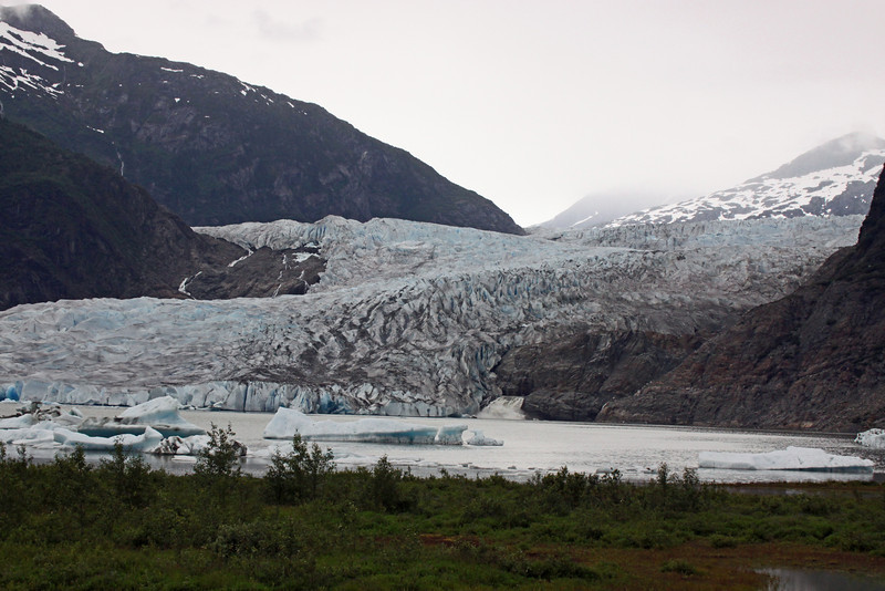 Thirteen Miles of glacier and then you hit the ice field