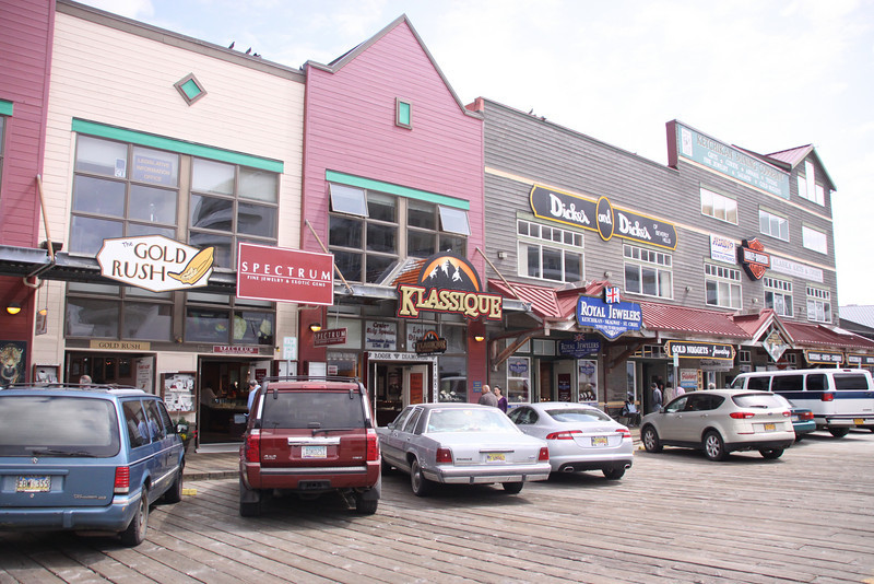 Typical Cruise Port Stores