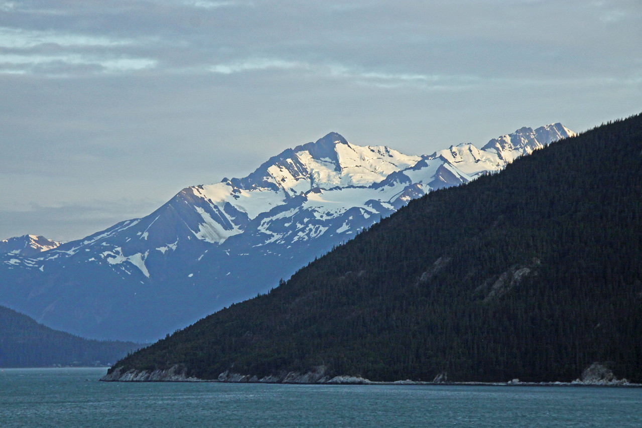 On the way to Glacier Bay