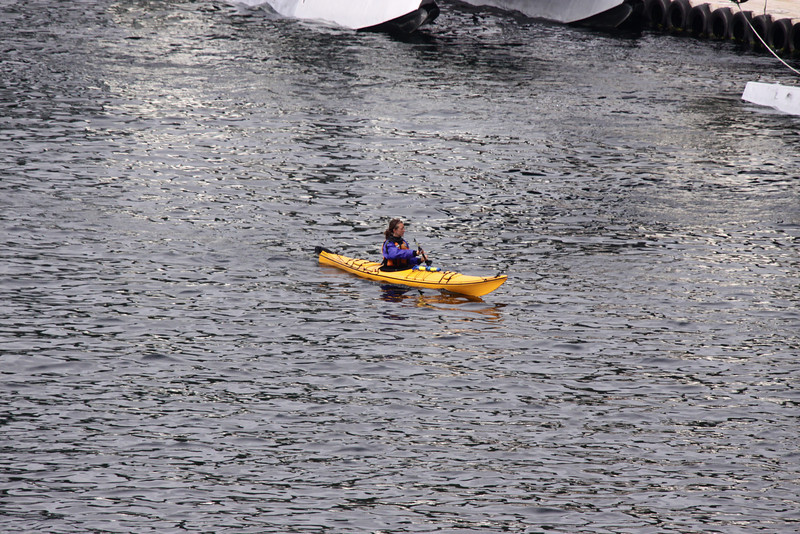Kayaker (possibly mispelled)