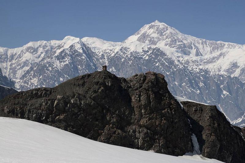 Don Sheldon's Cabin - Ruth Glacier