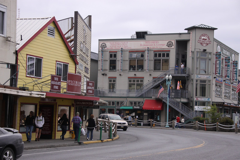 More of the town stores
