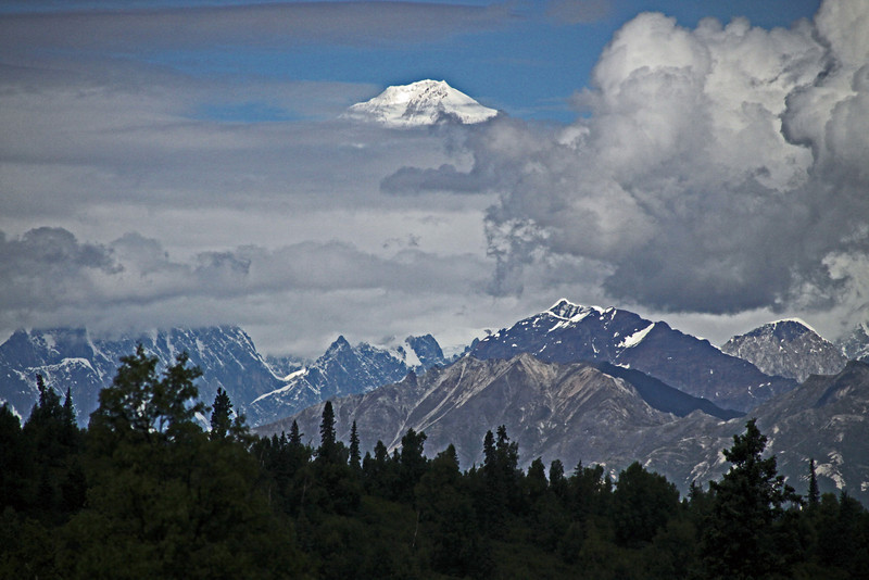 Mount McKinley now known as Mount Denali.
