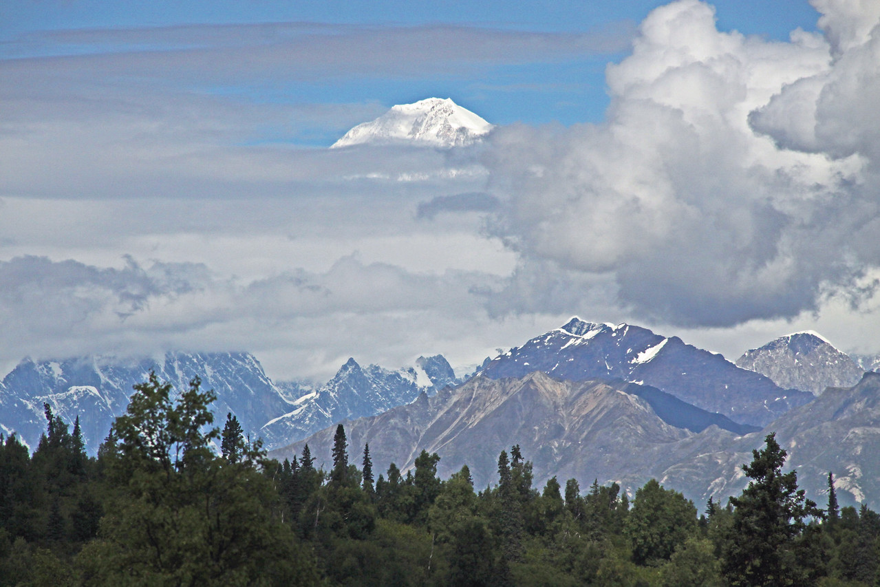 Mount Mckinley or  Mount Denali
