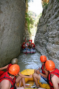 Osumi Canyons in Berat