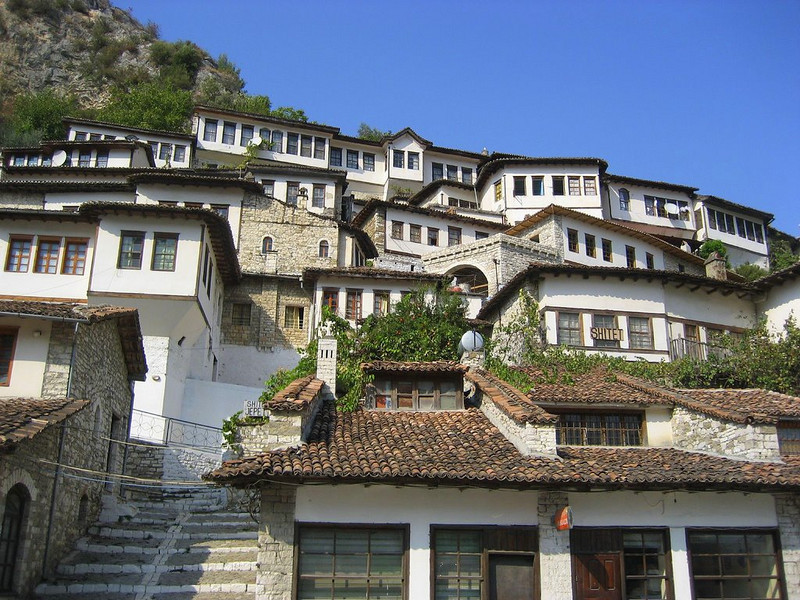 UNESCO protected Berat