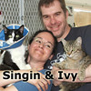 Singian and Ivy were adopted together from the Cat House and Adoption Center on Saturday August 13, 2011.