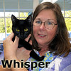 Whisper was adopted from Steamboat Animal Hospital on Wednesday, September 12, 2012.