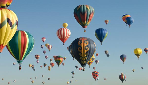 Hot Air Balloons!!! Albuquerque International Balloon Fiesta