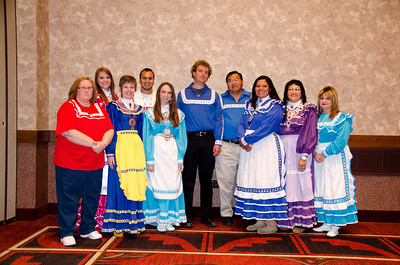 Members of the Choctaw Nation Cultural Services staff