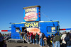 Can you believe that Spam was here handing out samples?  Every time I went by, there was a line of people waiting for a taste of Spam!!!