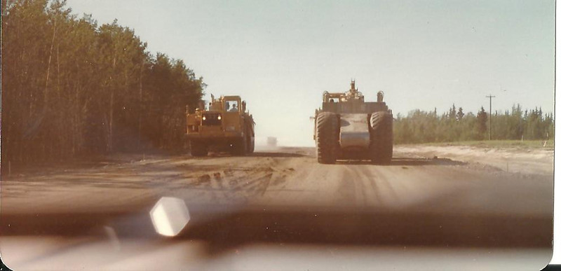 No flaggers in construction zones.......you had to just stay out of the way.