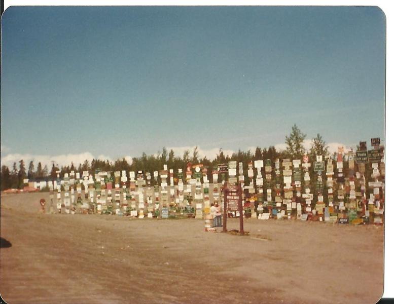 Watson Lake Sign Forrest 1978