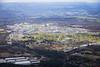 Aerial photo of Aldermaston Atomic Weapons Establishment.
