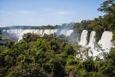 Iguazu Falls, Argentina - more than 100 separate falls