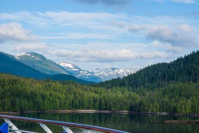 On a cruise Alaska