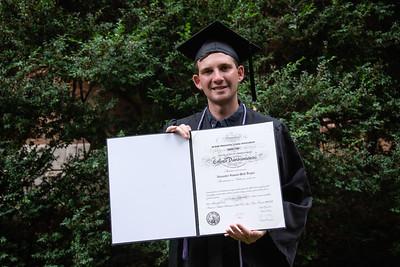 Alex's Davidson Graduation