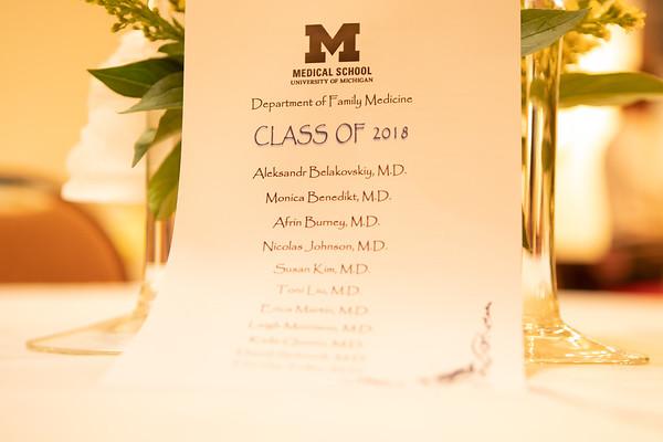 Alex's Residency Graduation