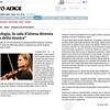 """CARLOTTA - Oncologia, la sala d'attesa diventa """"sala della musica"""" - Cronaca - Alto Adige- pag 2"""