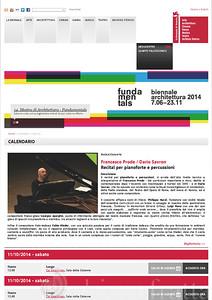 La Biennale di Venezia - Francesco Prode - Dario Savron _Pagina_1