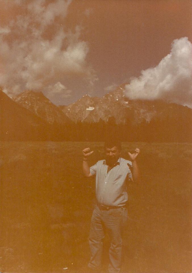 1984 - Grand Teton's Jenny Lake (1st trip)