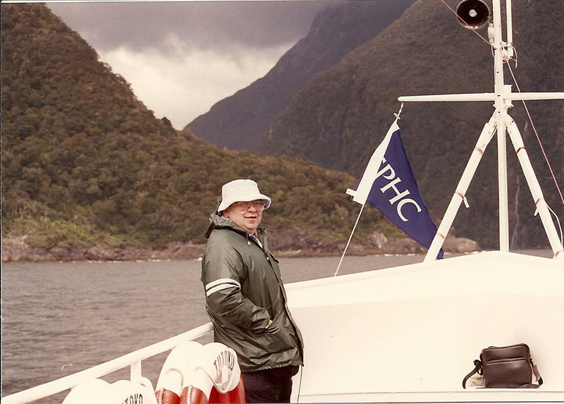 1991 Jan. Milford Sound, New Zealand