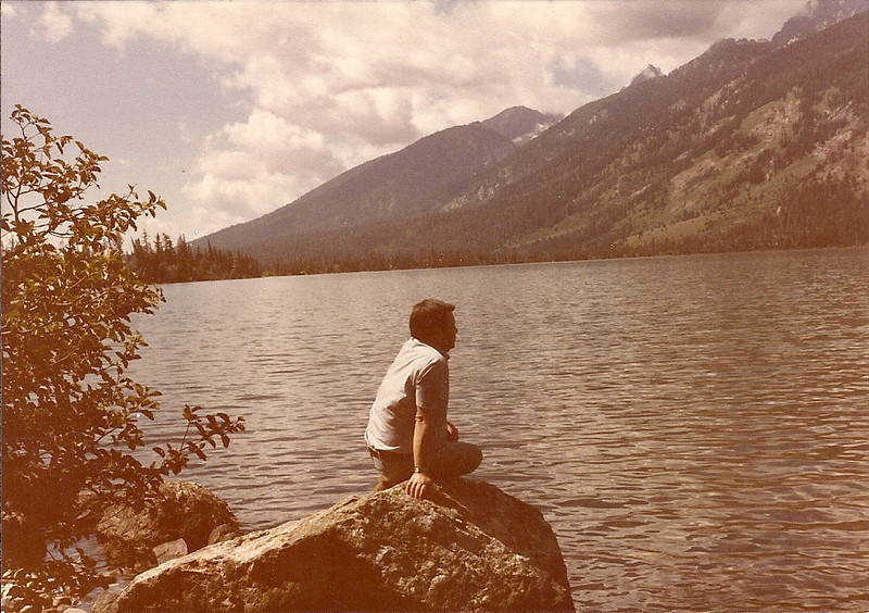 1984 - Jenny Lake (his resting place)