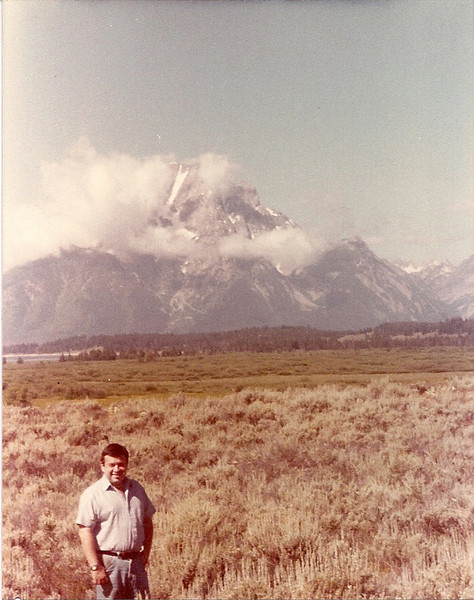 1984 - Grand Teton. Our 1st vacation together!
