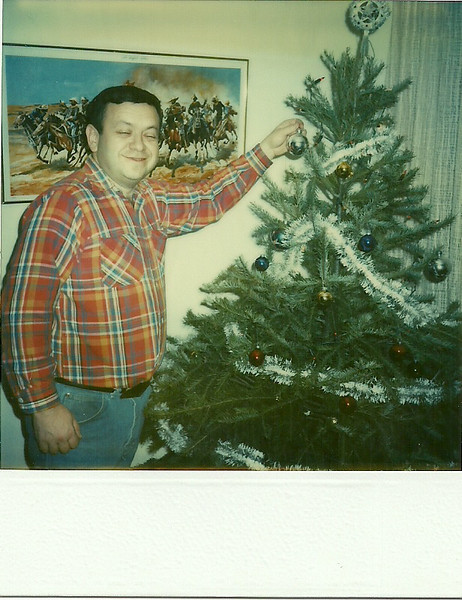 1983 Dec. At my apartment in Orange, NJ before moving down to Whitehouse