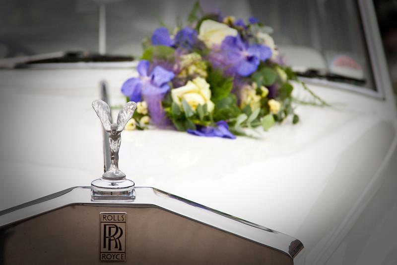Trouwen in een Rolls Royce