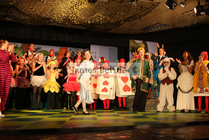 'Alice in Wonderland', Loredo Middle School, Aurora, CO, April 2008