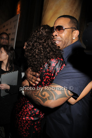 Alicia Keys, Busta Rhymes<br /> photo by Rob Rich © 2010 robwayne1@aol.com 516-676-3939