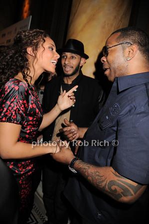 Alicia Keys, Busta Rhymes<br /> photo by Rob Rich © 2010 robwayne1@aol.com 516-676-3939
