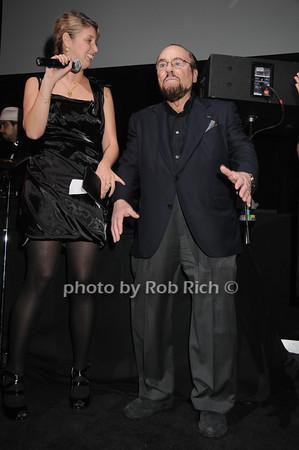 Brianna Birtles, James Lipton<br /> photo by Rob Rich © 2010 robwayne1@aol.com 516-676-3939