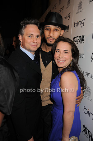 Jason Binn, Swizz Beatz, Samantha Yanks<br /> photo by Rob Rich © 2010 robwayne1@aol.com 516-676-3939