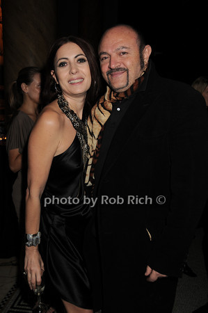 Catherine Malandrino, Bernard Aidan<br /> photo by Rob Rich © 2010 robwayne1@aol.com 516-676-3939