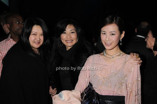 Susan Shin, Monica von Zadora-Gerlof, Tana Chung<br /> photo by Rob Rich © 2010 robwayne1@aol.com 516-676-3939