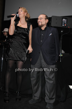 Brianna Birtles, James Lipton<br /> photo by Rob Rich © 2010 robwayne1@aol.com 516-676-3939