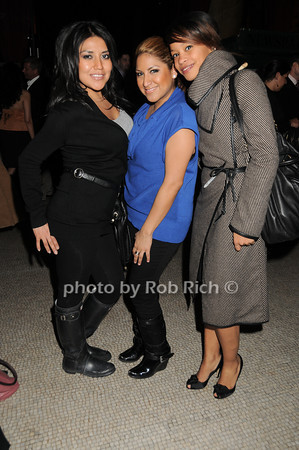 Julie Martin, Sandra Piedra, Ali Florian<br /> photo by Rob Rich © 2010 robwayne1@aol.com 516-676-3939