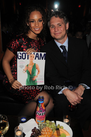 Alicia Keys, Jason Binn<br /> photo by Rob Rich © 2010 robwayne1@aol.com 516-676-3939