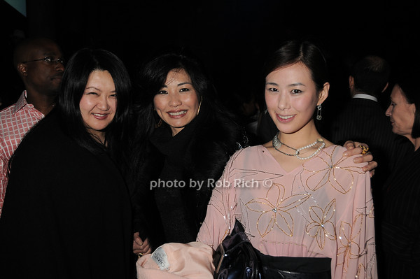 Susan Shin, Monica von Zadora-Gerlof, Tana Chung<br /> photo by Rob Rich © 2010 robwayne1@aol.com 516-676-3939