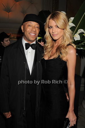 Russell Simmons, Paige Butcher<br /> photo by Rob Rich © 2010 robwayne1@aol.com 516-676-3939