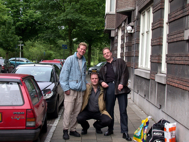 Remco, me and Eric.