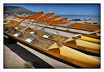 Outrigger Canoes, Hawaii Kai