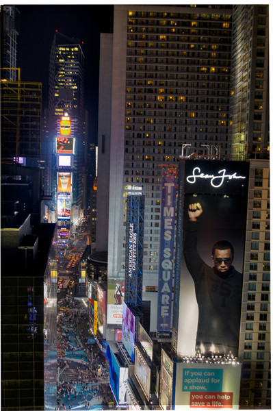 Took this from the top of our building when we lived in Times Square...yes, lived IN Times Square or at least it felt like it.