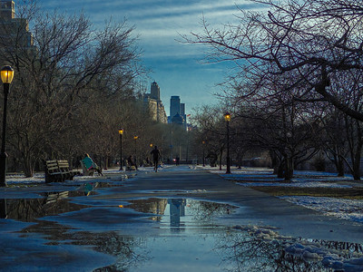 Reflections in Riverside Park 2