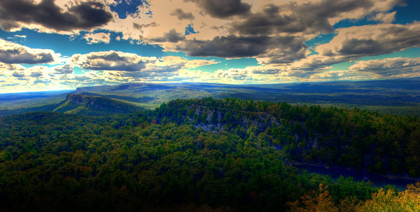 Taken from Mohonk looking at the cliffs off in the distance