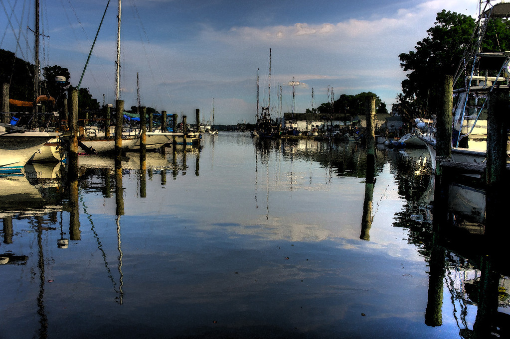 This is a wonderful little harbor in the North Fork on Long Island.  I have this blown up on a metal print at the office.