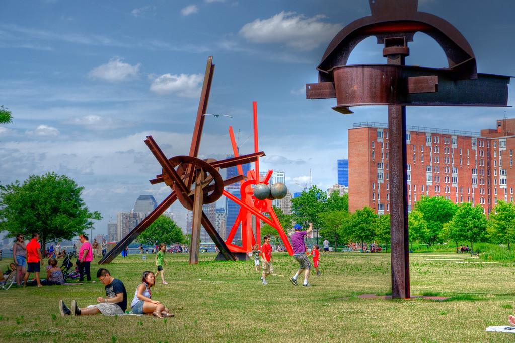 Liked the colors and teh people lying around on Governors Island on the 4th of July