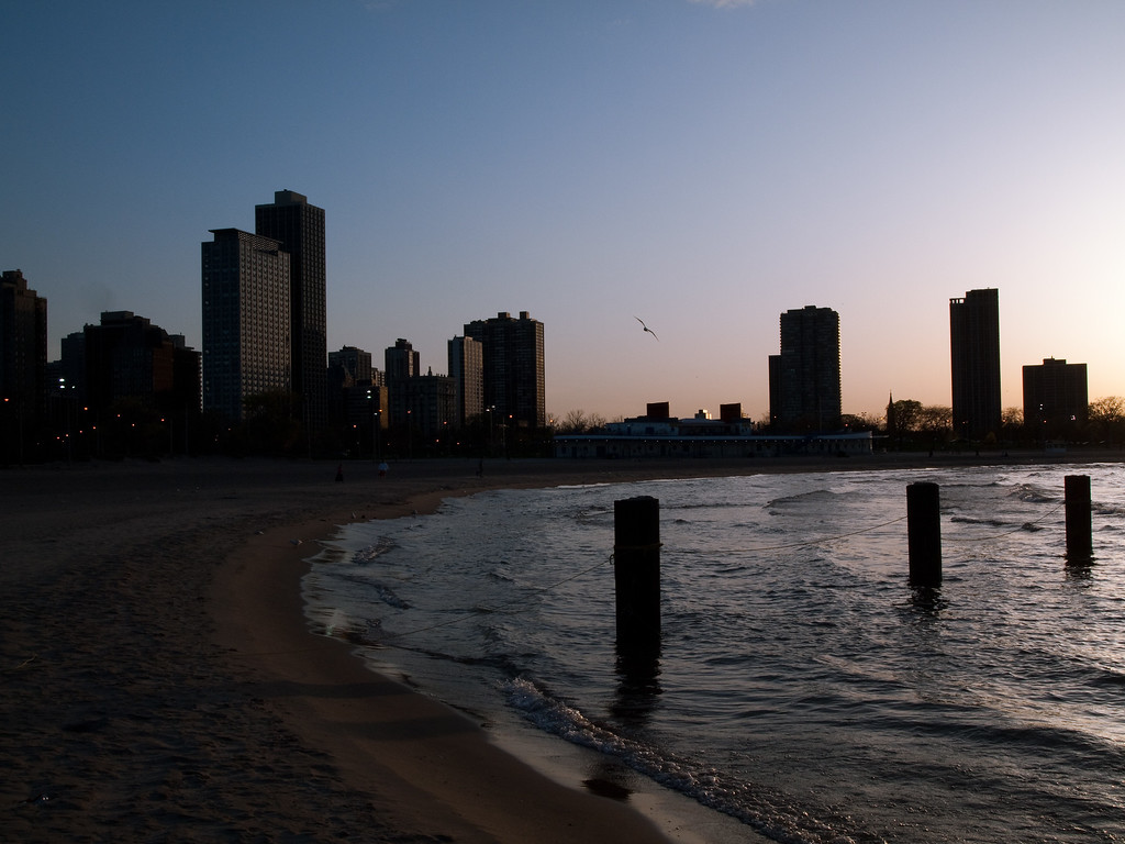The old piers just looked nice in the water pointing towards the sunset.